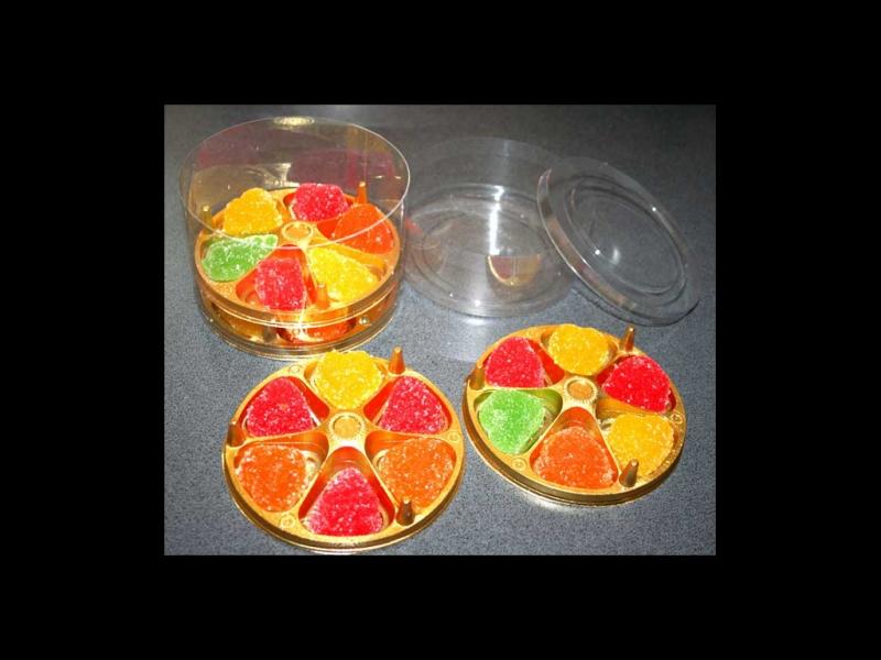 Cilindru din plastic pentru jeleuri suprapuse (3)