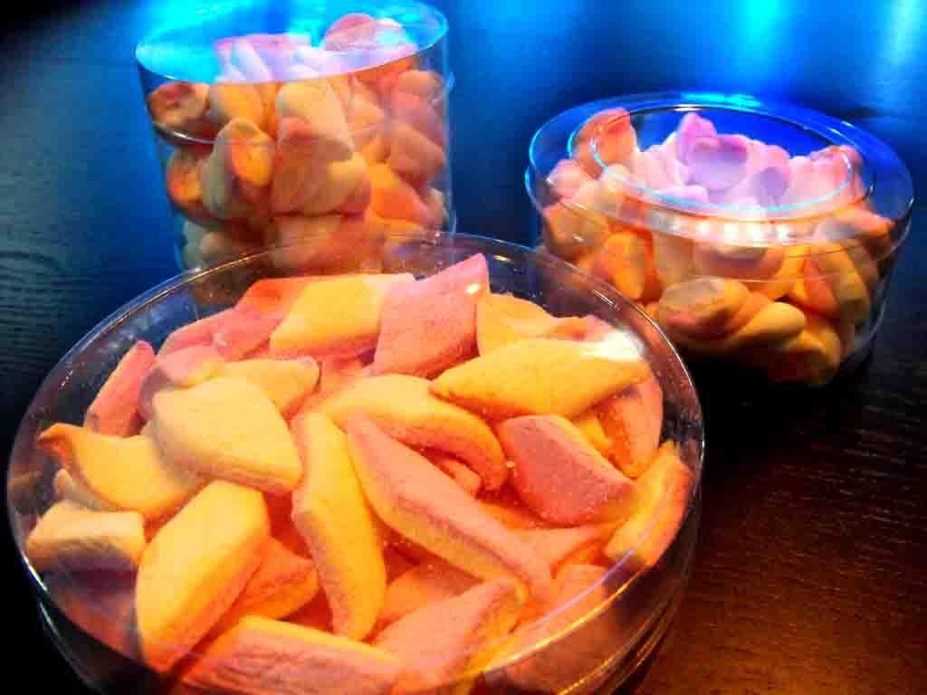 Cilindri Dure Din Plastic Pentru Marshmallow