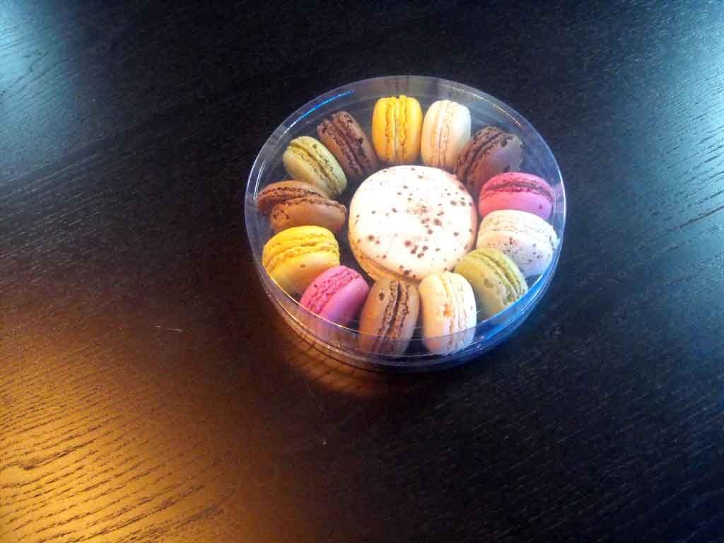 Cilindru din plastic pentru mega macarons (2)