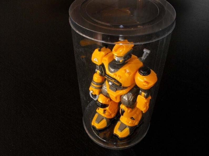 Cilindri Transparente Din Plastic Pentru Pentru Jucarie Robot