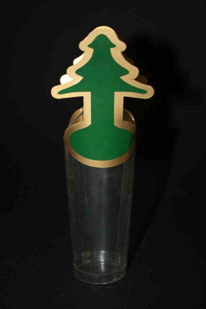 Cilindru plastic in forma de bradut (2)