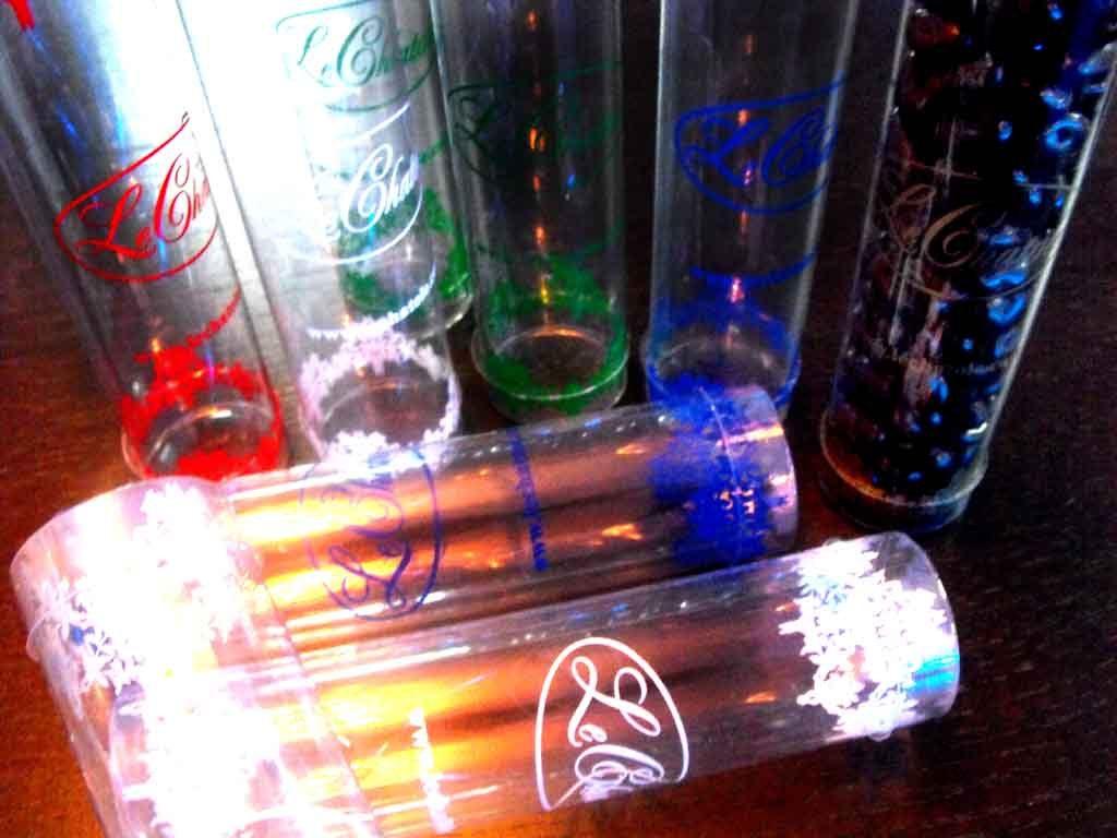 Cilindru plastic pentru cadouri, ornamente etc (3)