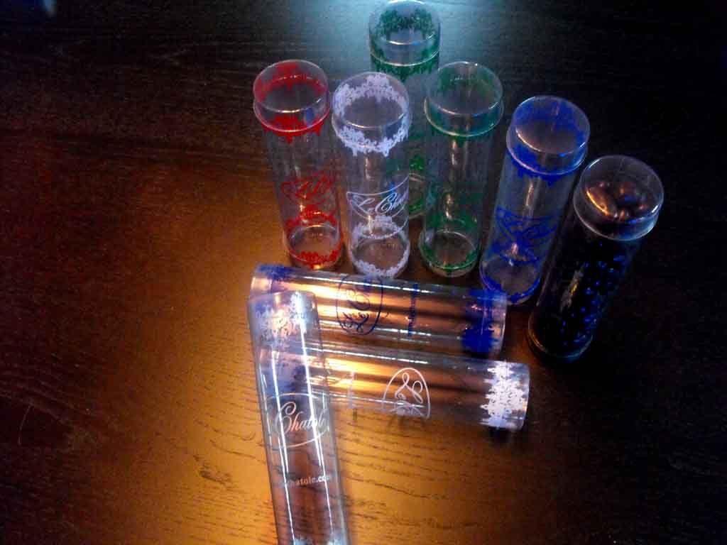 Cilindru plastic pentru cadouri, ornamente etc (9)