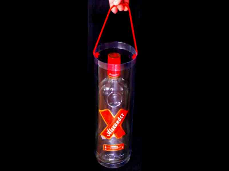 Cilindru plastic pentru sticla
