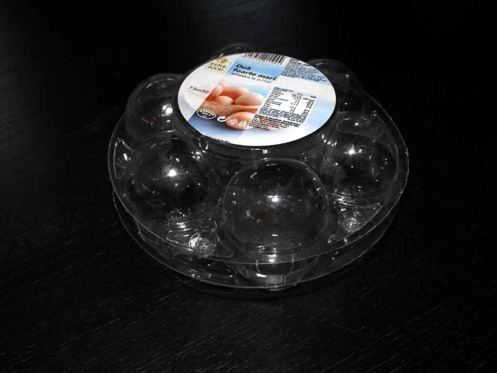 Cofraje Transparente Din Plastic Pentru Gaina 7 Compartimente