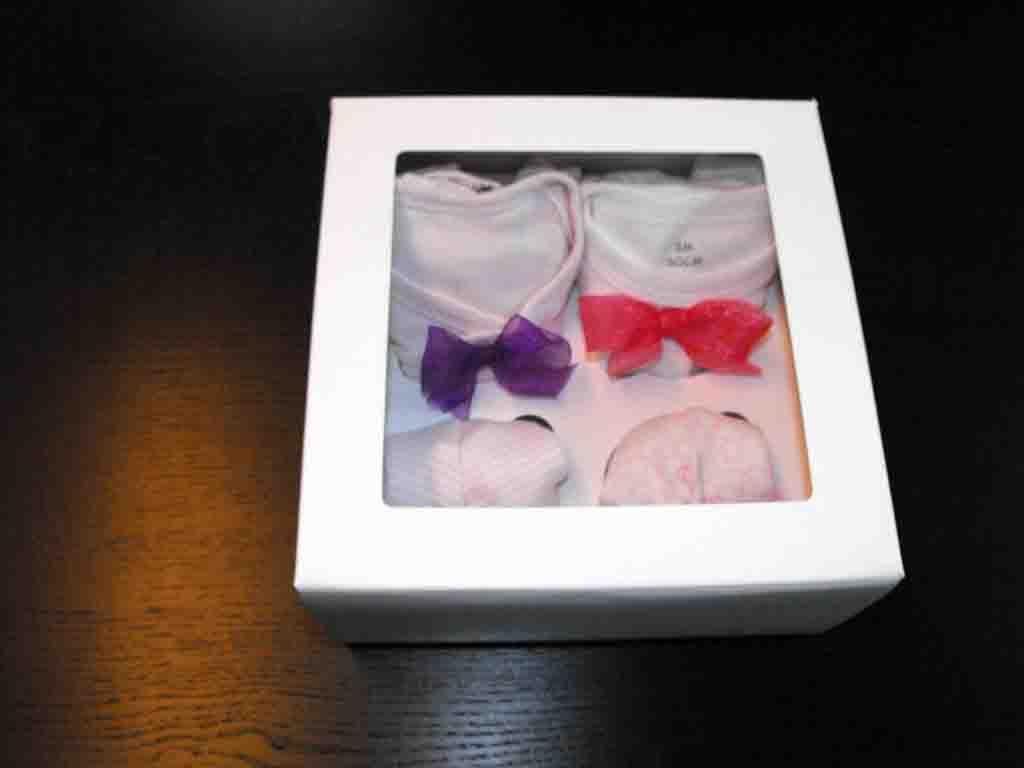 Cutie de carton pentru cadouri bebelusi (2)