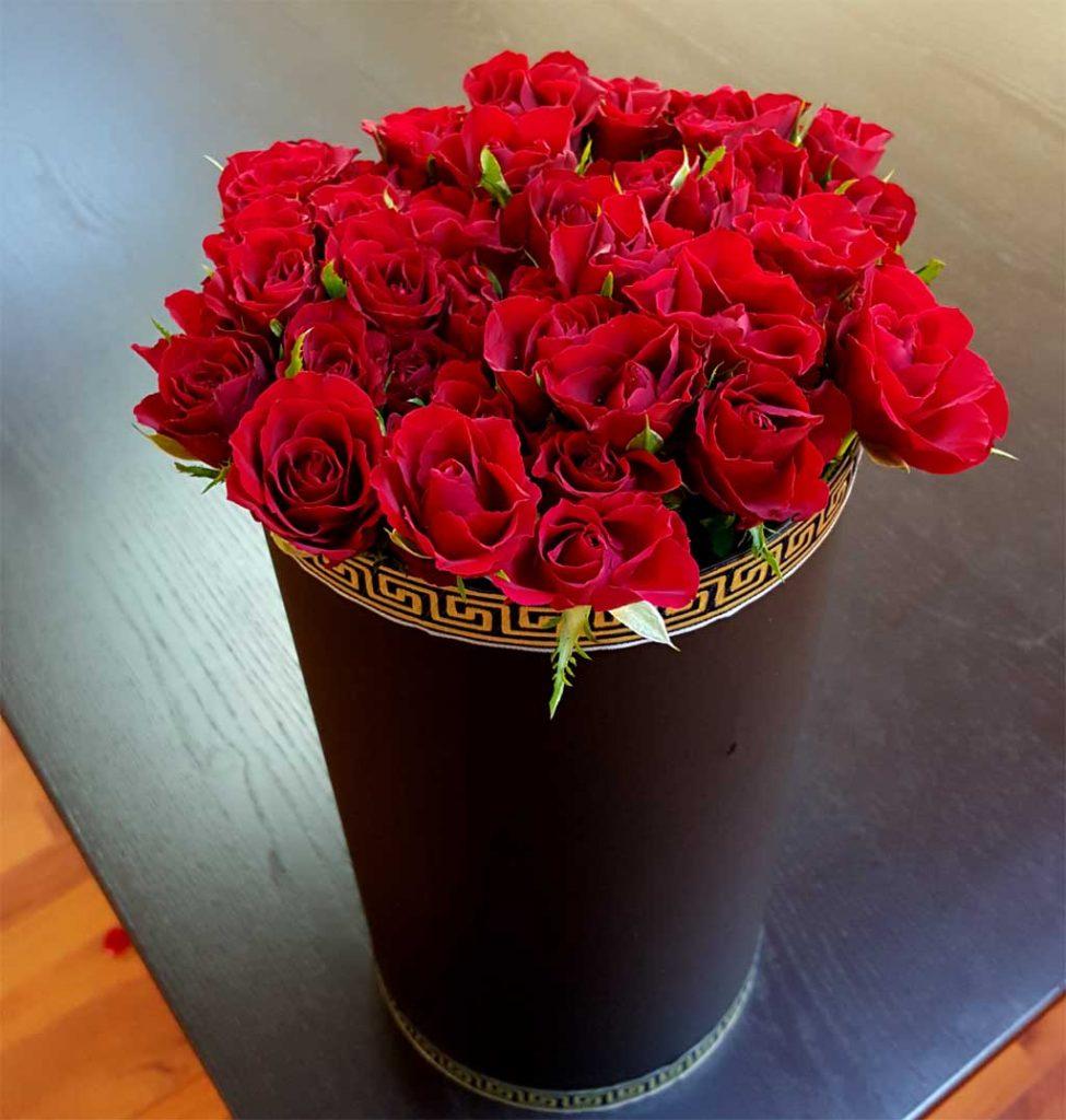 Cutie de carton pentru flori (2)