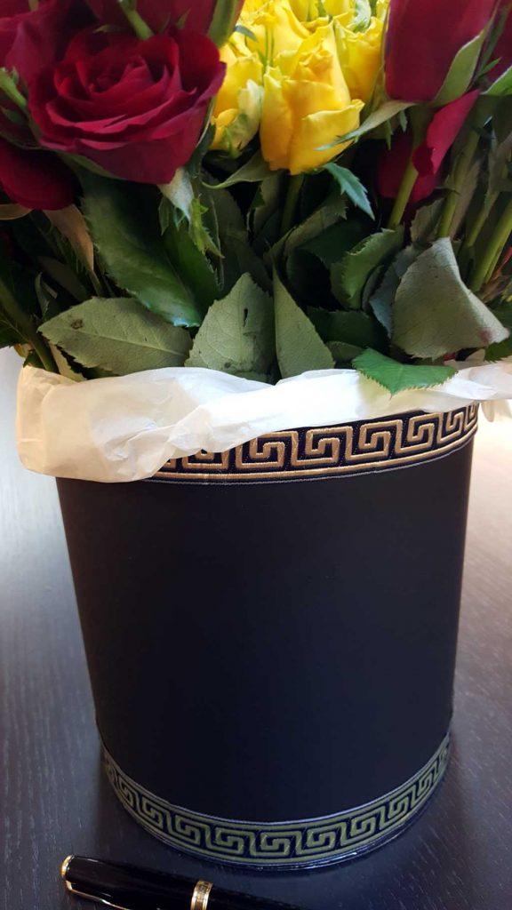 Cutie de carton pentru flori (3)
