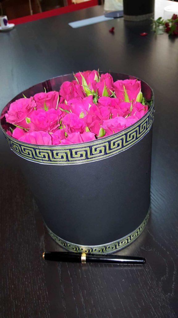 Cutie de carton pentru flori (5)