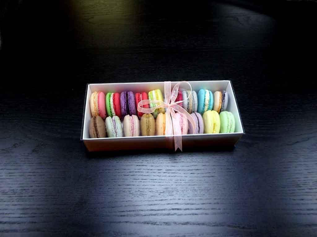 Cutie din carton pentru 18 macarons (1)