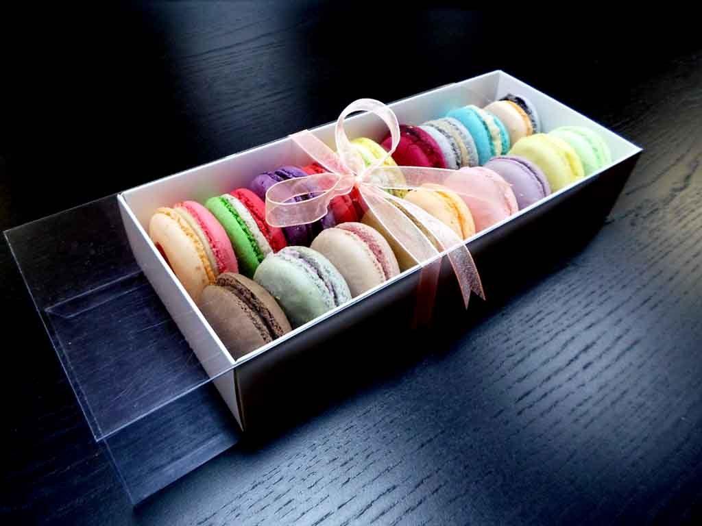 Cutie din carton pentru 18 macarons (2)