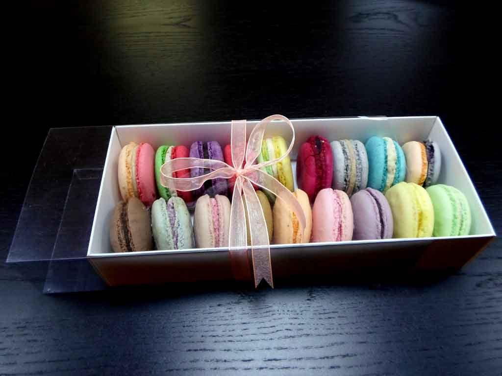Cutie din carton pentru 18 macarons (3)
