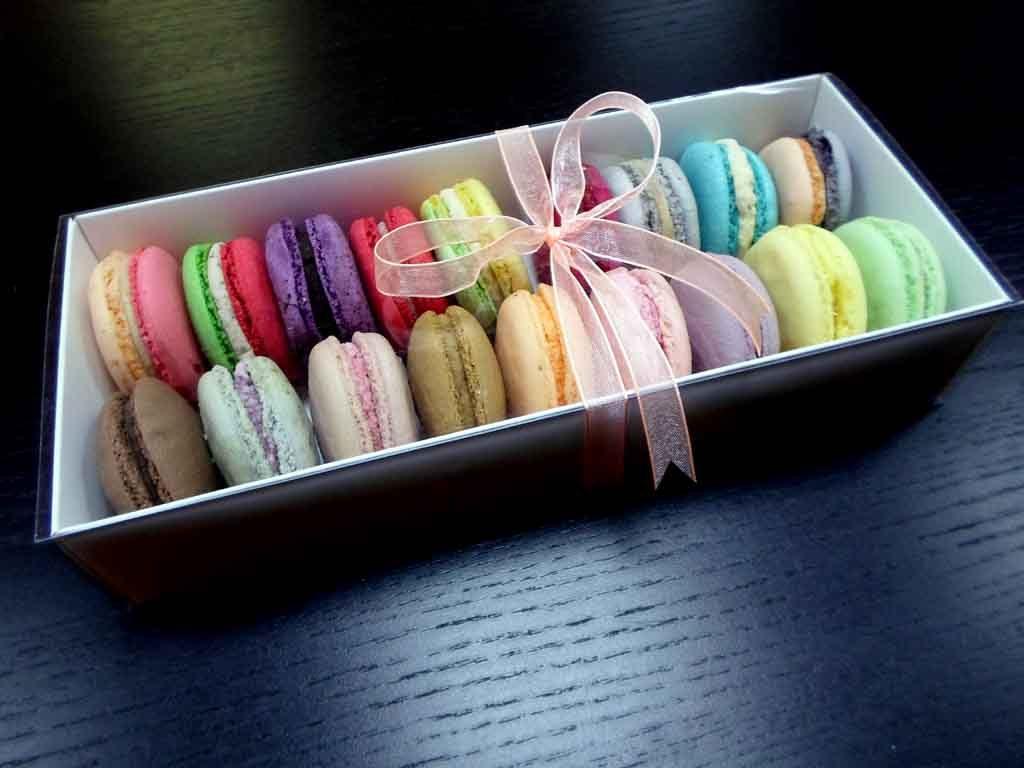 Cutie din carton pentru 18 macarons (4)