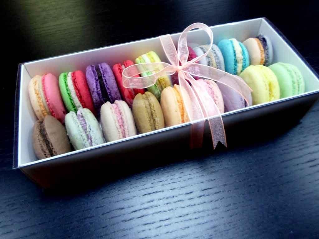 Cutii Dure Din Carton Pentru 18 Macarons