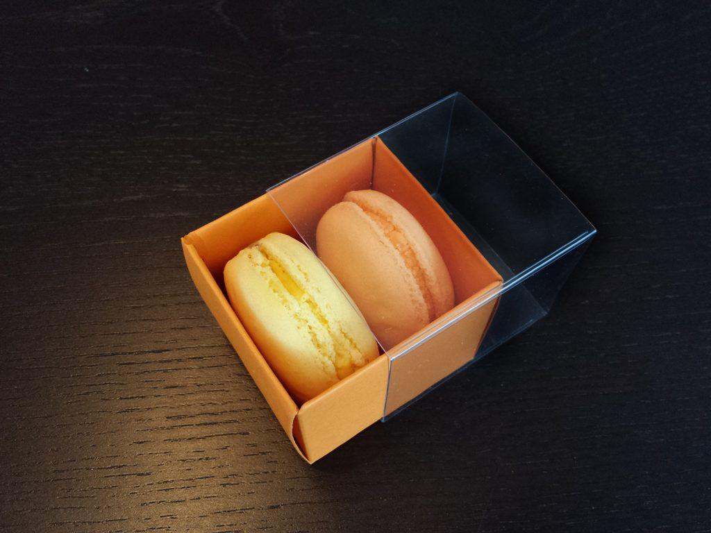 Cutie din carton pentru 2 macarons (6)
