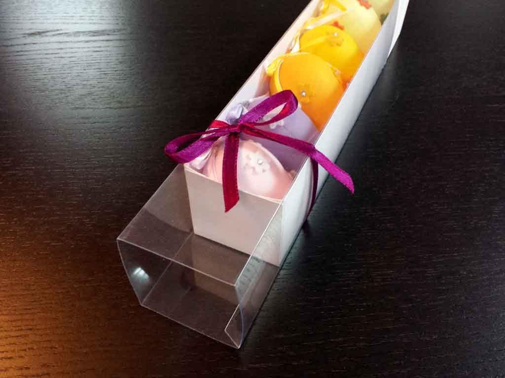 Cutie din carton pentru 7 figurine marshmallow (4)