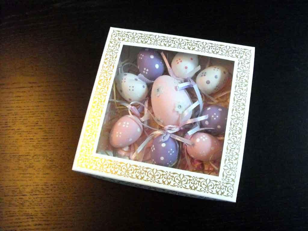 Cutie din carton pentru oua din ciocolata (1)