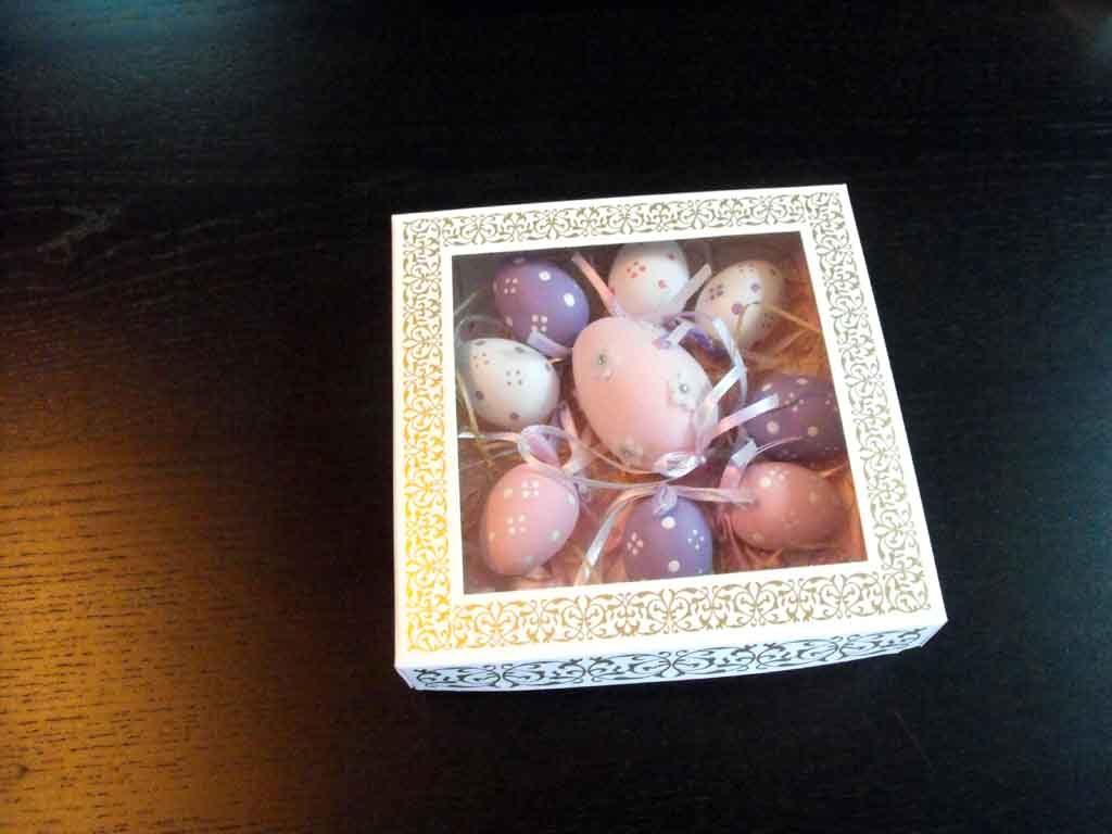 Cutie din carton pentru oua din ciocolata (3)