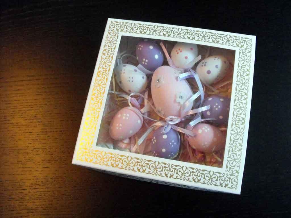 Cutie din carton pentru oua din ciocolata (4)