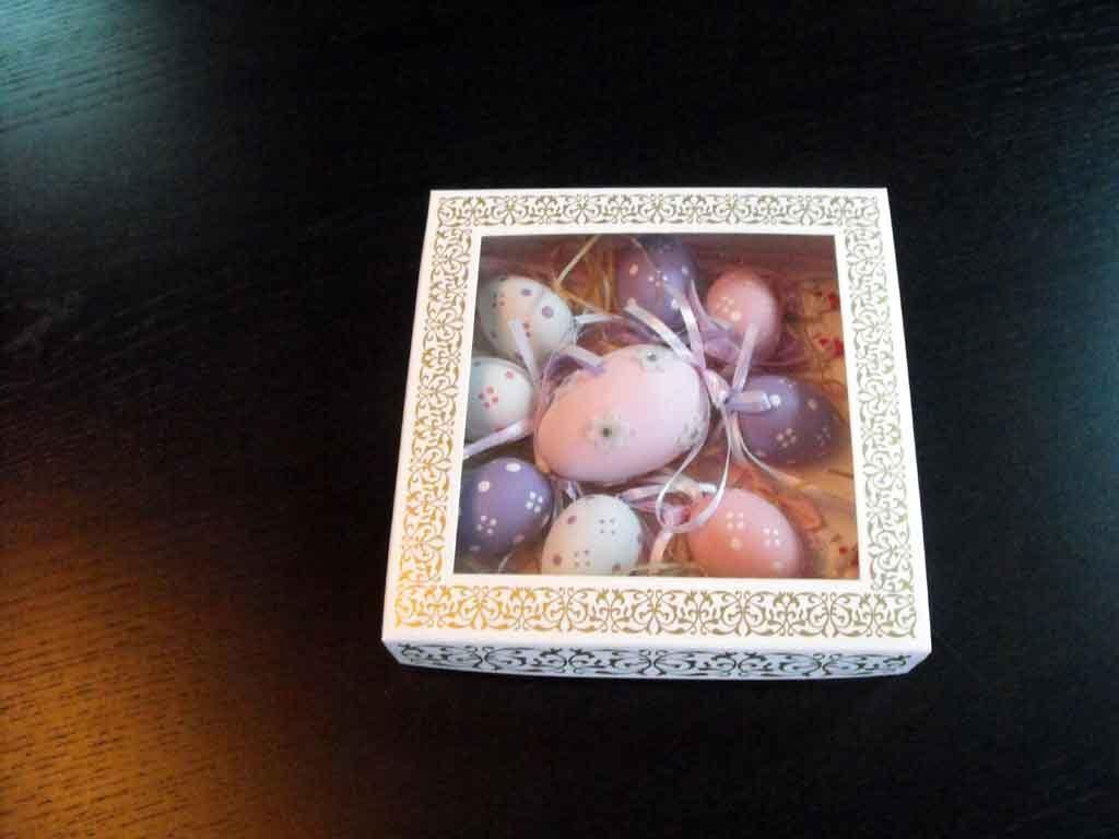 Cutie din carton pentru oua din ciocolata (5)