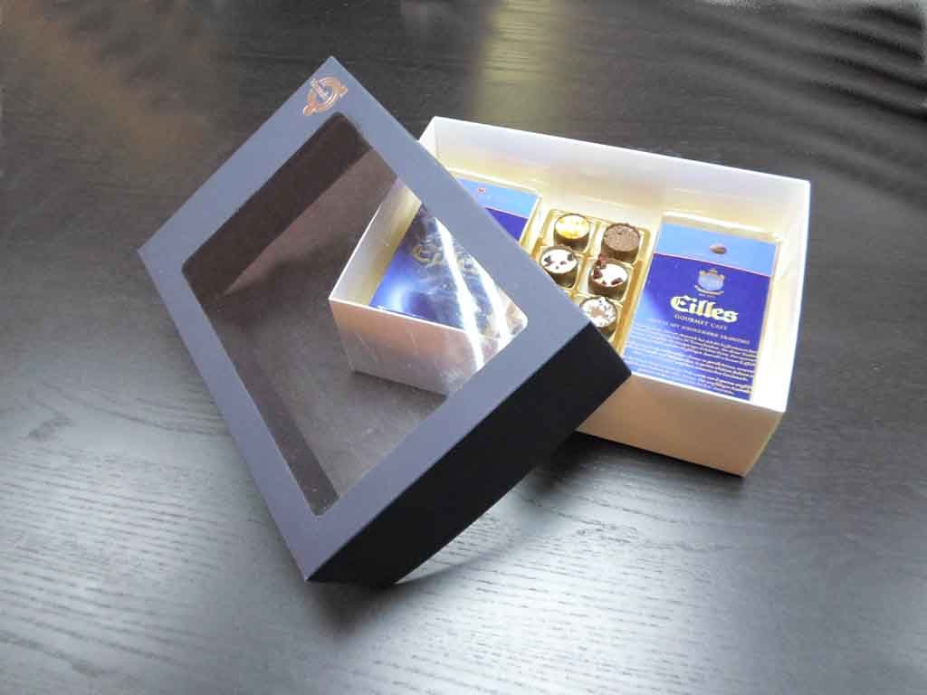Cutie din carton pentru set cafea (2)
