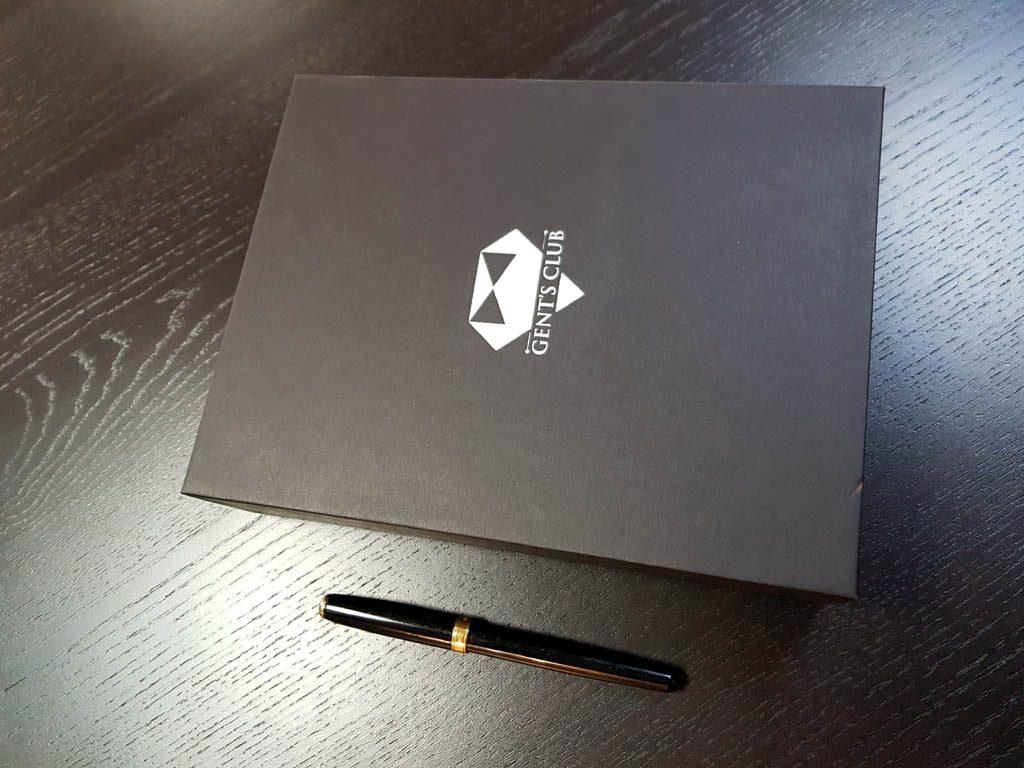 Cutie rigida pentru set cadou cravata, batista si pin (3)