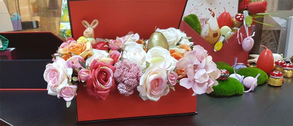 Cutie rigida tip carte pentru flori (23)
