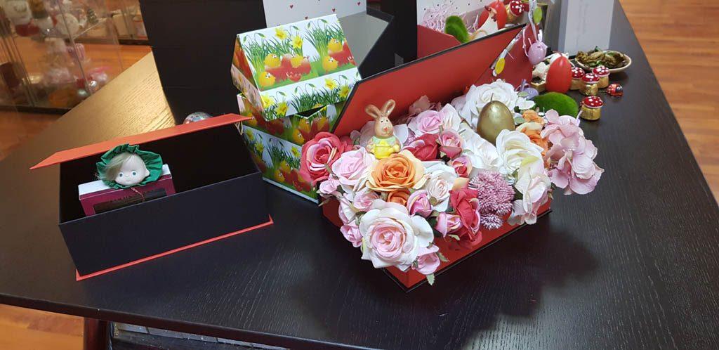 Cutie rigida tip carte pentru flori (24)