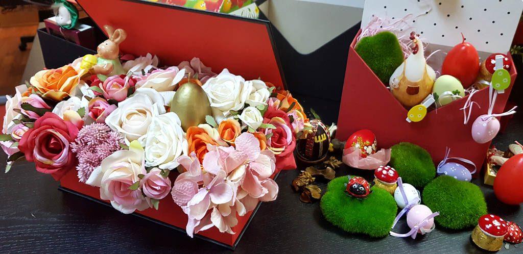 Cutie rigida tip carte pentru flori (25)