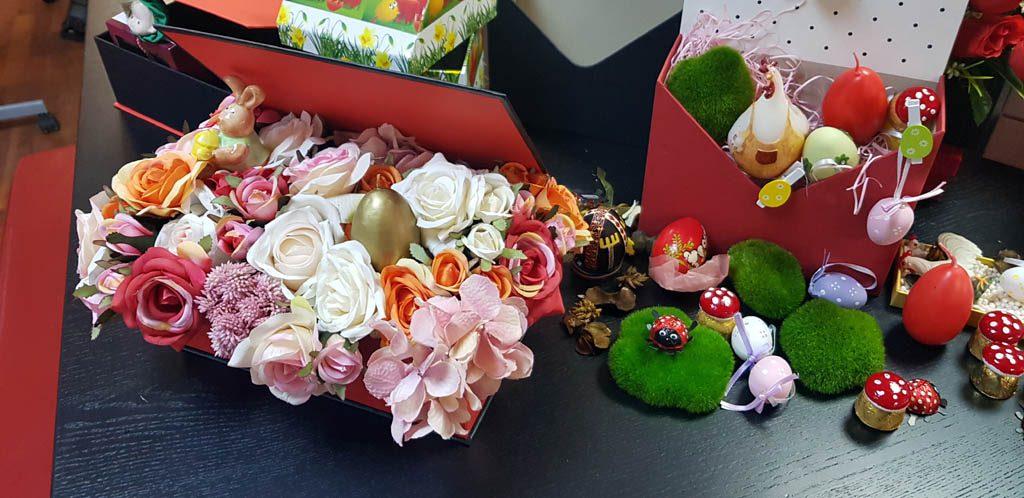 Cutie rigida tip carte pentru flori (26)