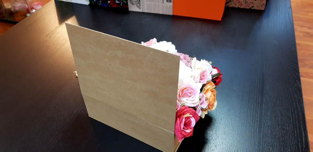 Cutie rigida tip carte pentru flori (6)