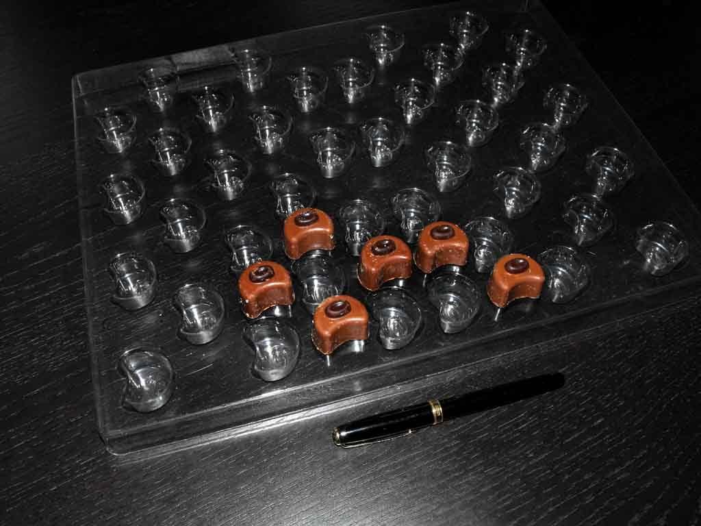 Forme de turnat ciocolata bomboane cafea (4)