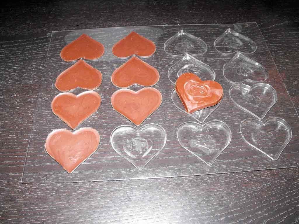 Forme de turnat ciocolata inima (1)