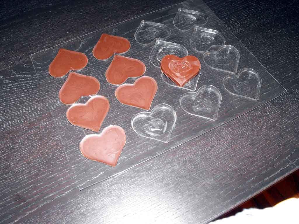 Forme de turnat ciocolata inima (2)