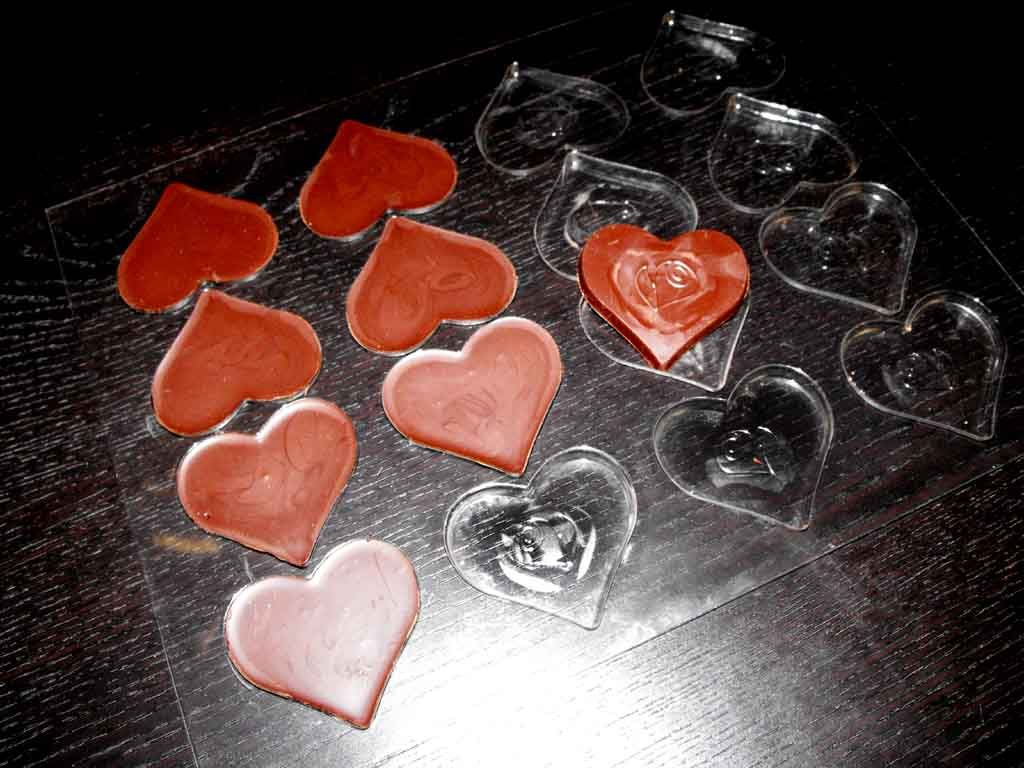 Forme de turnat ciocolata inima (6)