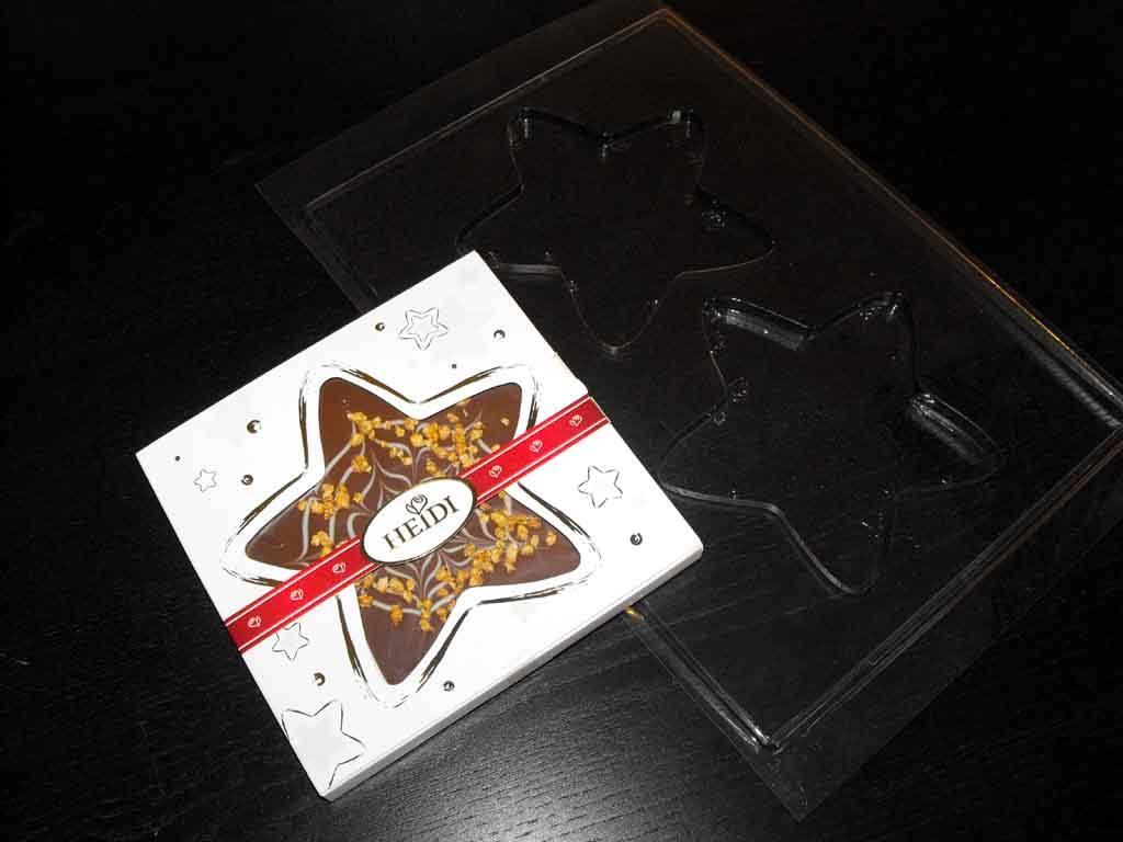 Forme de turnat ciocolata stea (3)