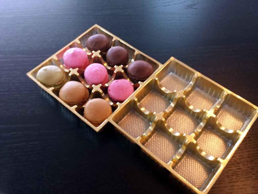 Chese Transparente Din Plastic Pentru Macarons