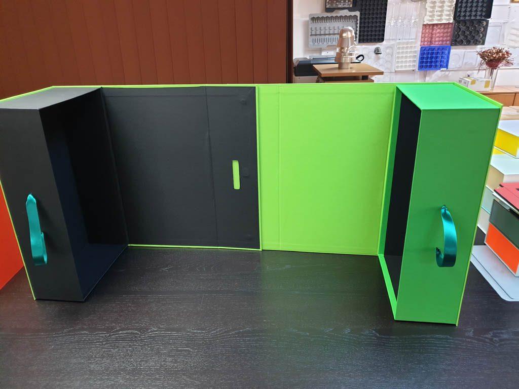 Cutii Rigide Rezistente Din Mucava Cu Magnet Pentru Cadouri (model 60930 (10)