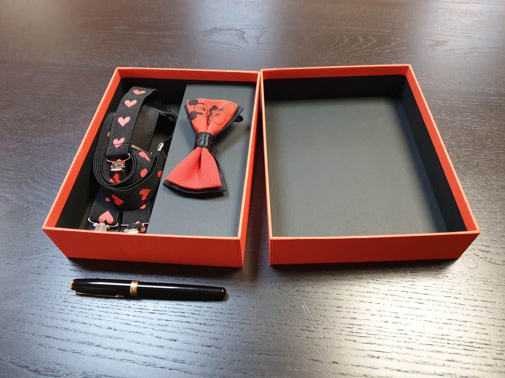 Cutii Rigide Rezistente Din Mucava Cu Magnet Pentru Set Cadou Papion Si Bretele (model 6065-6068) (7)