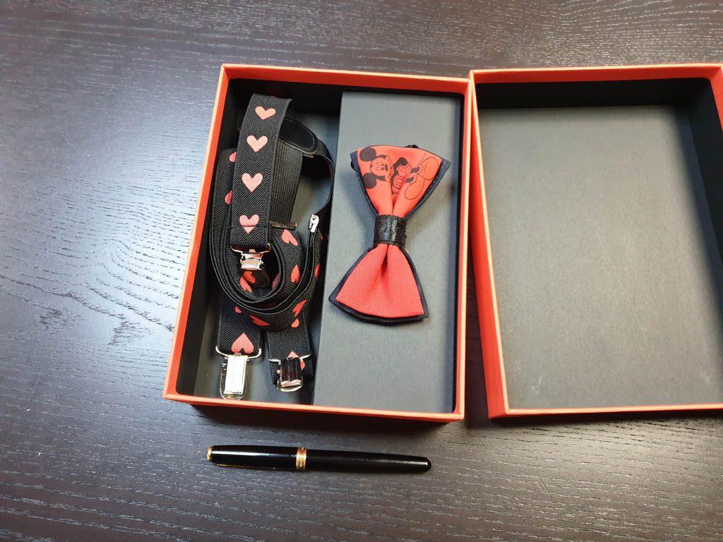 Cutii Rigide Rezistente Din Mucava Cu Magnet Pentru Set Cadou Papion Si Bretele (model 6065-6068) (8)